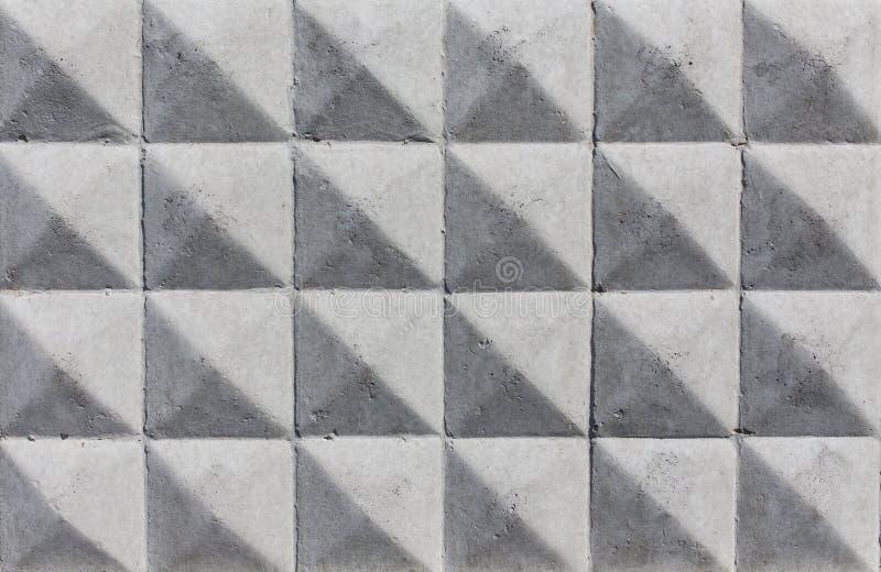 Fondo geométrico abstracto del hormigón imagen de archivo libre de regalías