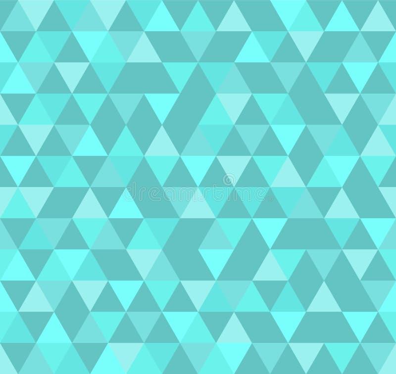 Fondo geométrico abstracto del modelo con los triángulos coloridos libre illustration