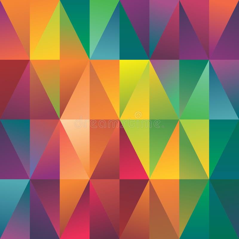 Fondo geométrico abstracto del modelo del espectro libre illustration