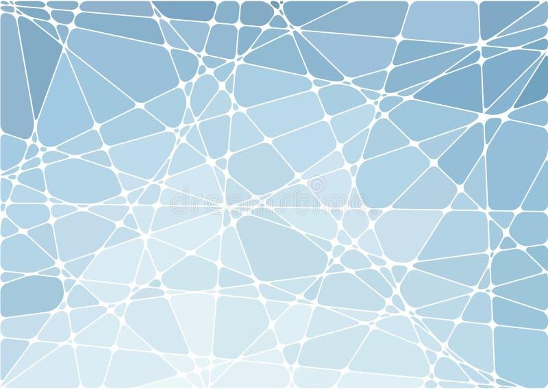 Fondo geométrico abstracto del mosaico ilustración del vector