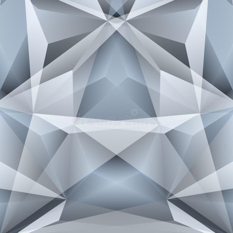 Fondo geométrico abstracto Ilustración del vector ilustración del vector
