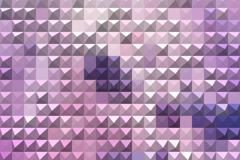 Fondo geométrico abstracto púrpura fotos de archivo