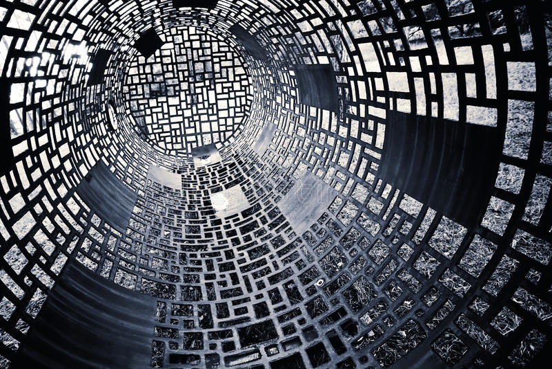 Fondo geométrico blanco y negro imagenes de archivo
