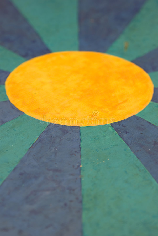 Fondo geométrico coloreado imagen de archivo