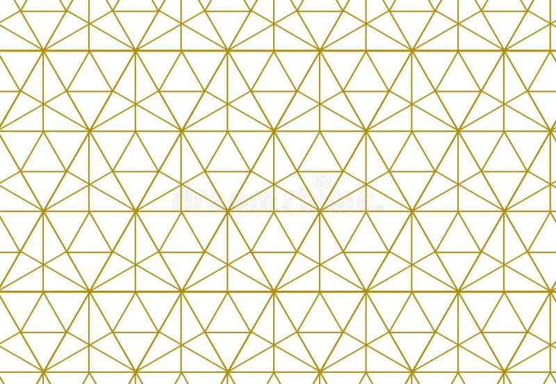 Fondo geométrico con el Rhombus y nodos Geométrico abstracto ilustración del vector