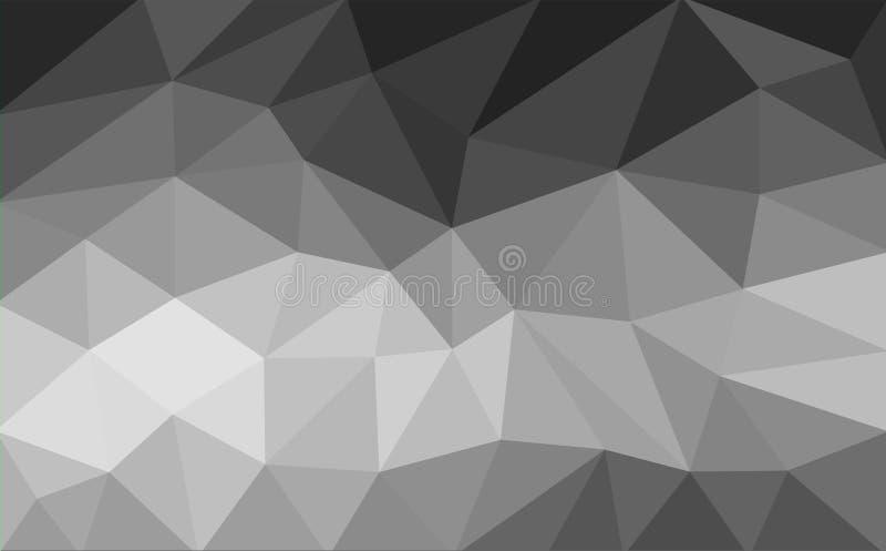 Fondo geométrico de Poligon en estilo moderno stock de ilustración