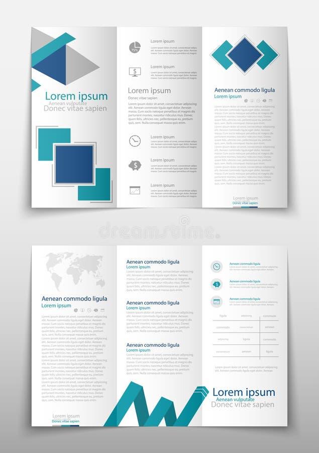 Fondo geométrico del extracto de la presentación de la cubierta del prospecto, disposición en informe anual de la tecnología dete ilustración del vector