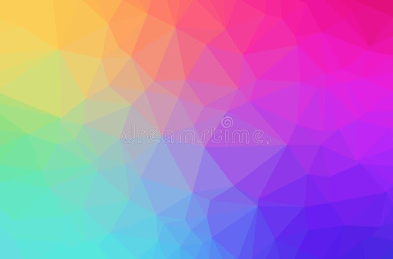 Fondo geométrico del polígono abstracto ilustración del vector