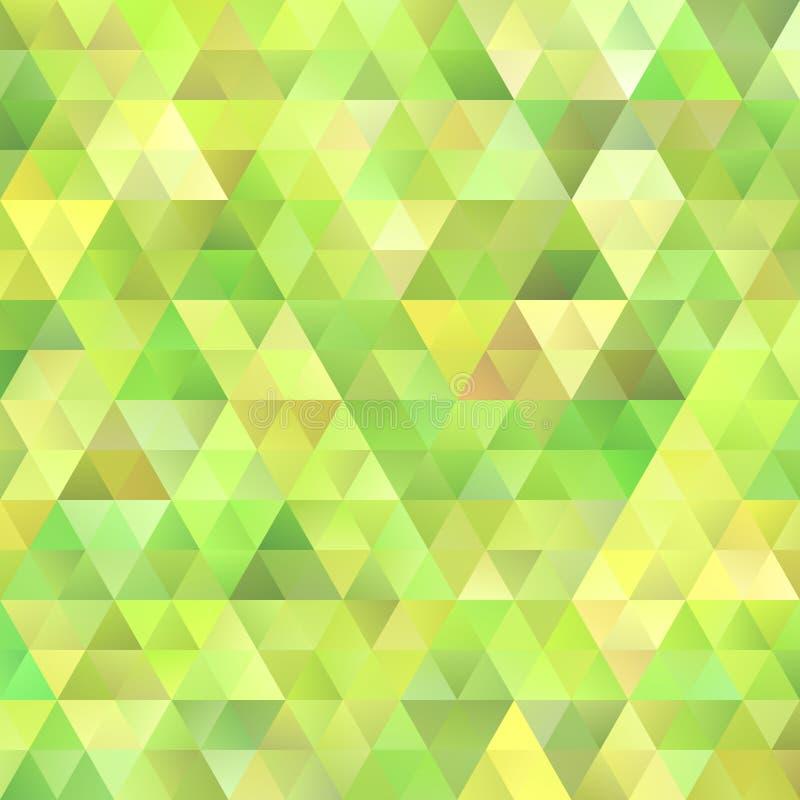 Fondo geométrico del polígono del triángulo de la pendiente ilustración del vector