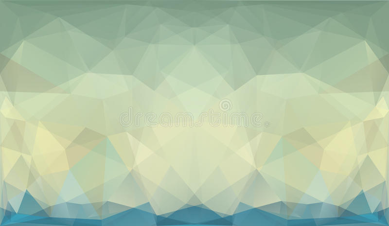 Fondo geométrico del triángulo abstracto stock de ilustración