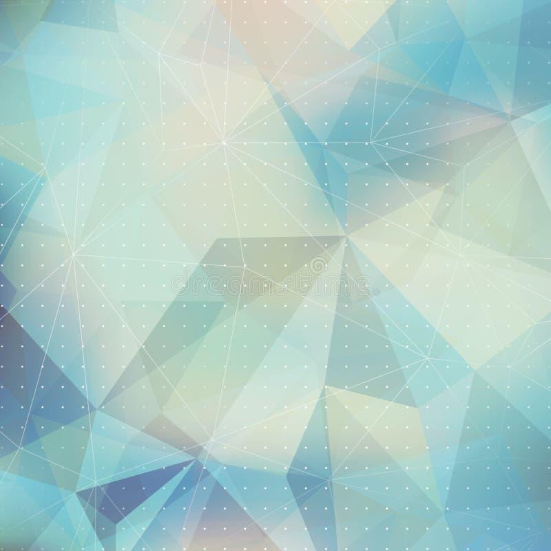 Download Fondo Geométrico Del Triángulo Abstracto Ilustración del Vector - Ilustración de diamante, contemporáneo: 41901339