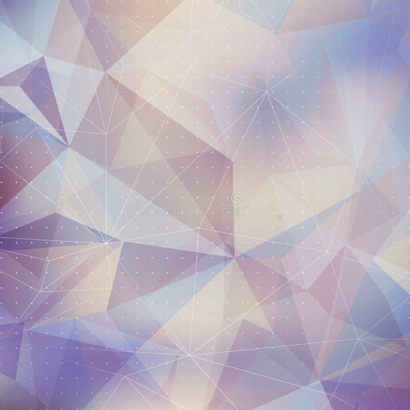 Download Fondo Geométrico Del Triángulo Abstracto Ilustración del Vector - Ilustración de geométrico, color: 41901342