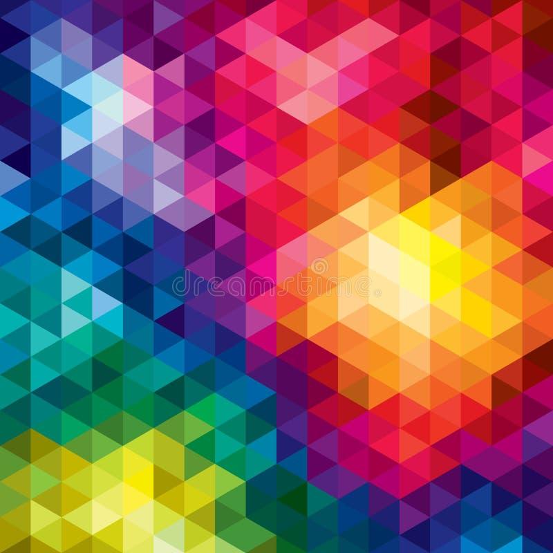 Fondo geométrico del vector imagenes de archivo