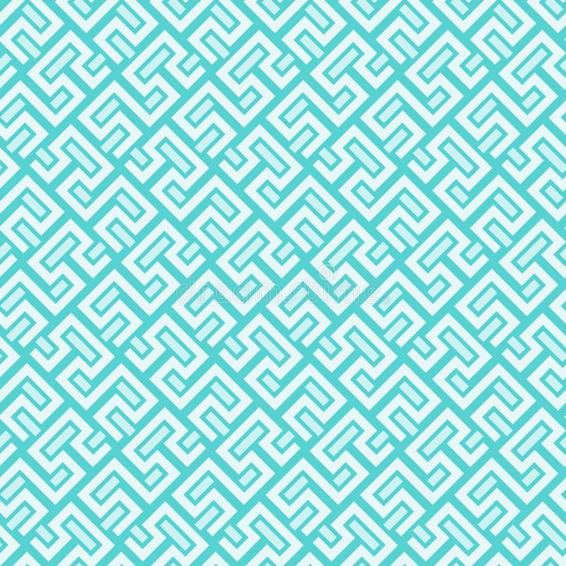 Fondo geométrico inconsútil ilustración del vector