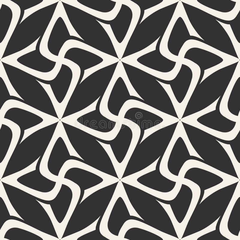 Fondo geométrico inconsútil ejemplo abstracto del vector Diseño gráfico simple Modelo para la impresión de materia textil ilustración del vector