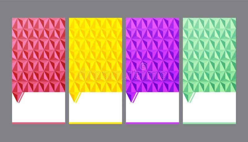 Fondo geométrico inconsútil, fondo abstracto del vector ilustración del vector