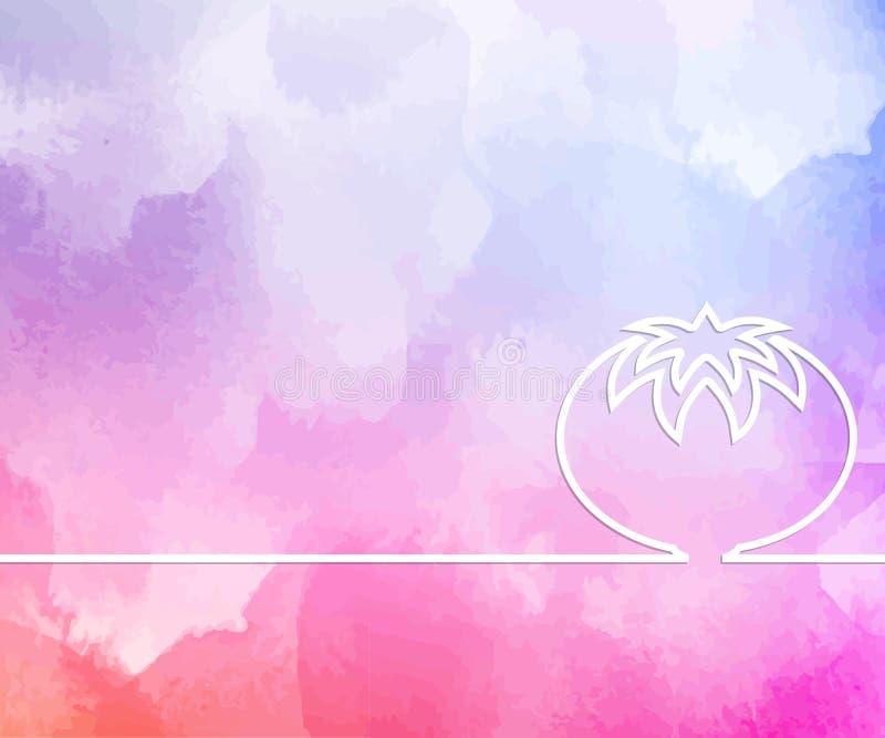 Fondo geométrico mínimo de color Diseño abstracto de material creativo Para web, móvil, aplicación, plantilla moderna, ilustración del vector