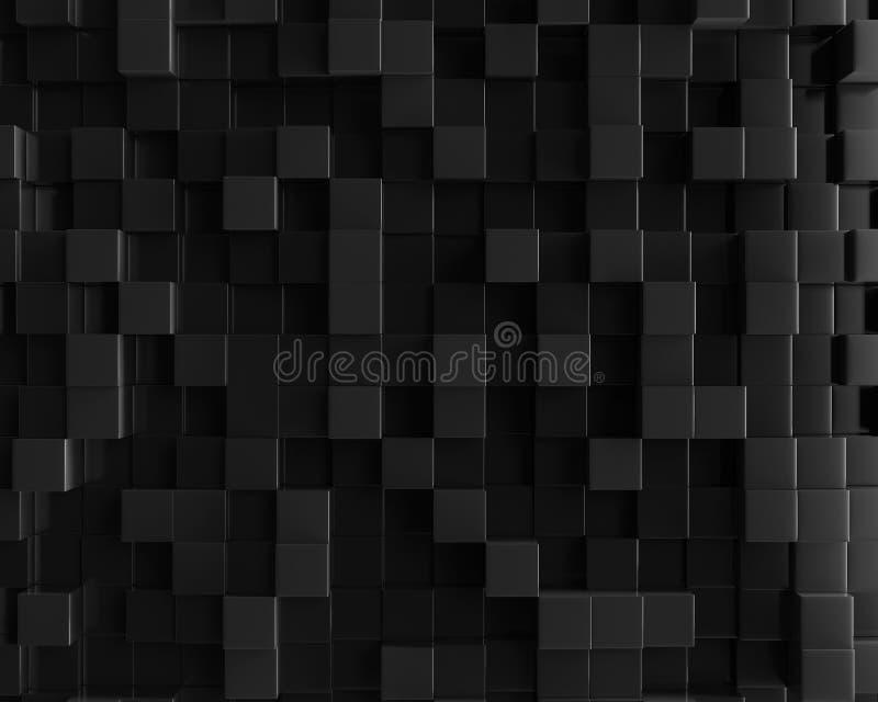 Fondo geométrico poligonal abstracto del cubo libre illustration