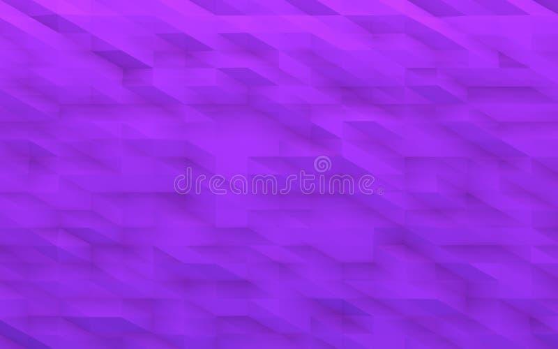 Fondo geométrico violeta fotografía de archivo