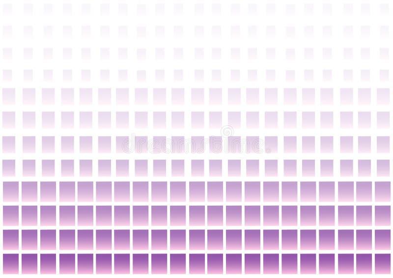 Fondo geom?trico abstracto con los cuadrados p?rpuras y rosados Vector ilustración del vector