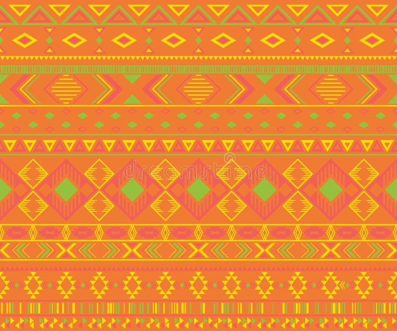 Fondo geom?trico del vector de los adornos ?tnicos tribales indios americanos del modelo fotos de archivo libres de regalías