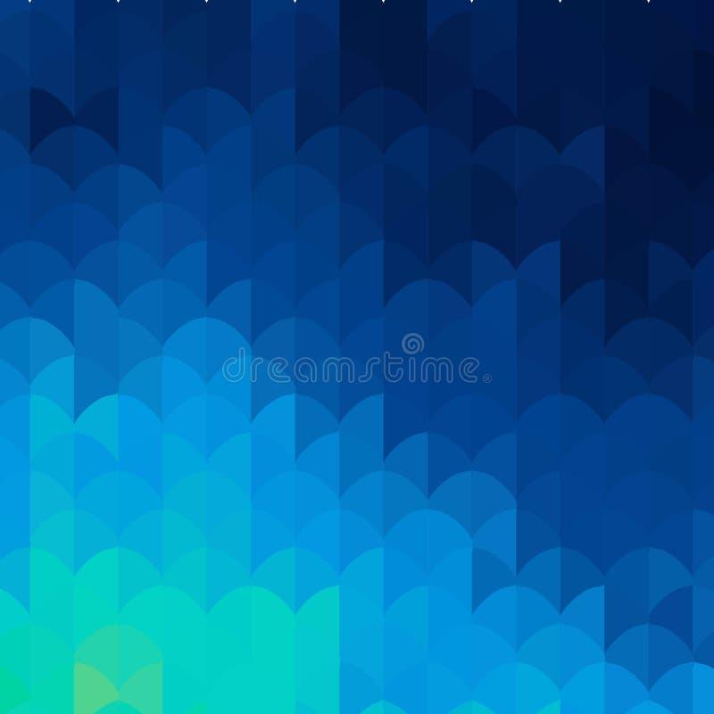 Fondo geom?trico Plantilla abstracta del vector para la presentaci?n EPS 10 ilustración del vector