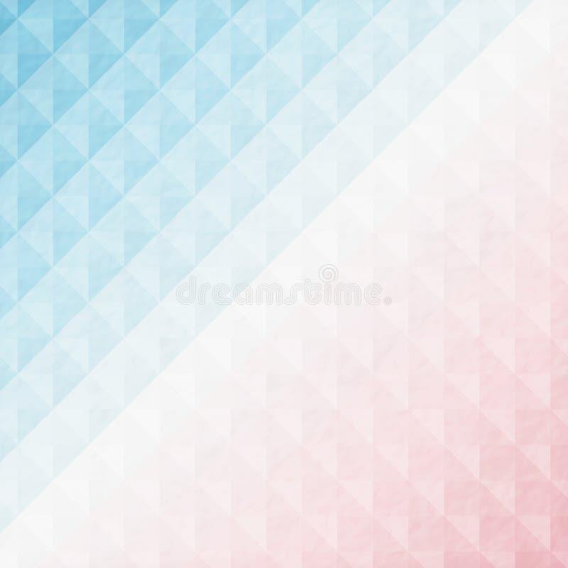 Fondo geometrico astratto illustrazione vettoriale