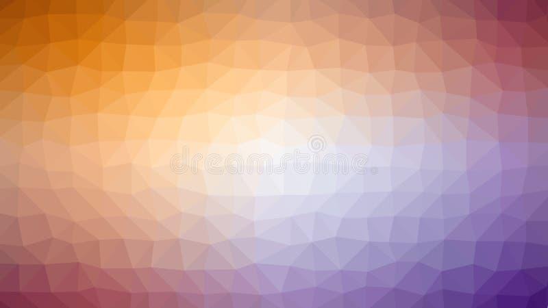 Fondo geometrico astratto con il poligono triangolare, poli basso immagine stock