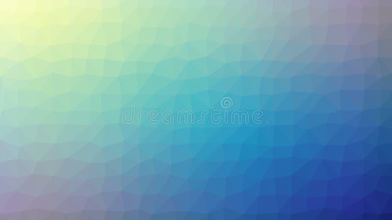 Fondo geometrico astratto con il poligono triangolare, poli basso fotografia stock