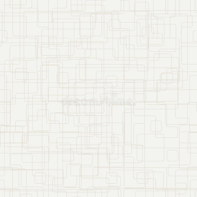 Fondo geometrico astratto con le figure di sovrapposizione sottili illustrazione vettoriale