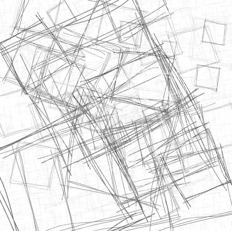 Fondo geometrico astratto di vettore illustrazione vettoriale
