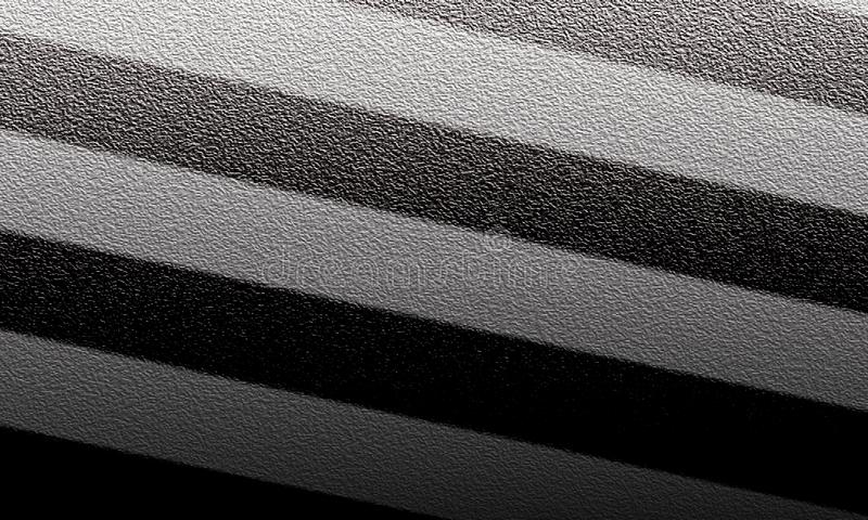 Fondo geometrico astratto nero e grigio Concetto moderno di forma fotografia stock libera da diritti