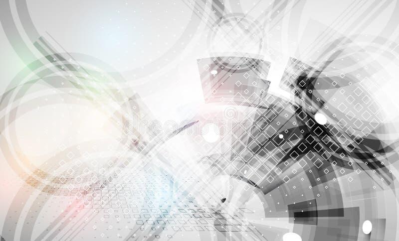 Fondo geometrico astratto variopinto per progettazione illustrazione di stock