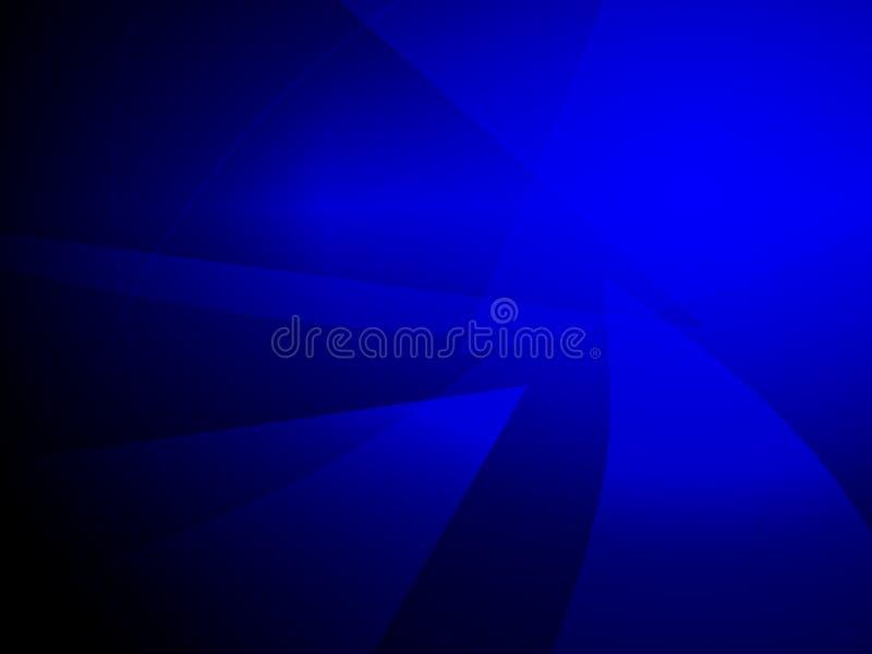 Fondo geometrico blu scuro di progettazione di forma dell'estratto royalty illustrazione gratis