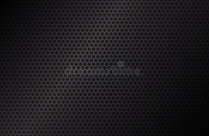 Fondo geometrico dei poligoni illustrazione vettoriale