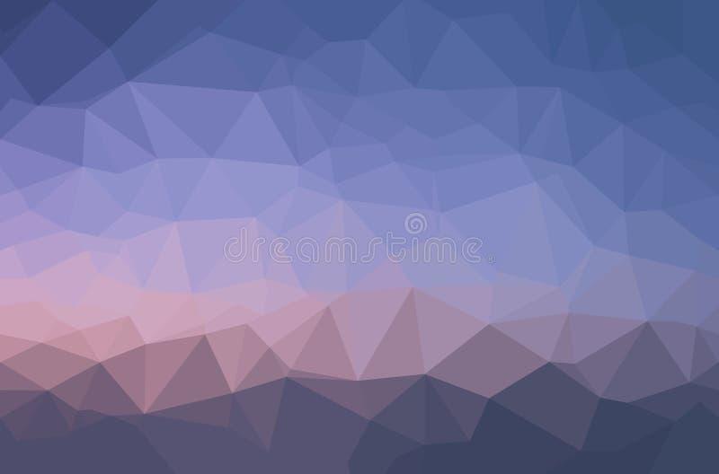 Fondo geometrico del poligono astratto illustrazione vettoriale