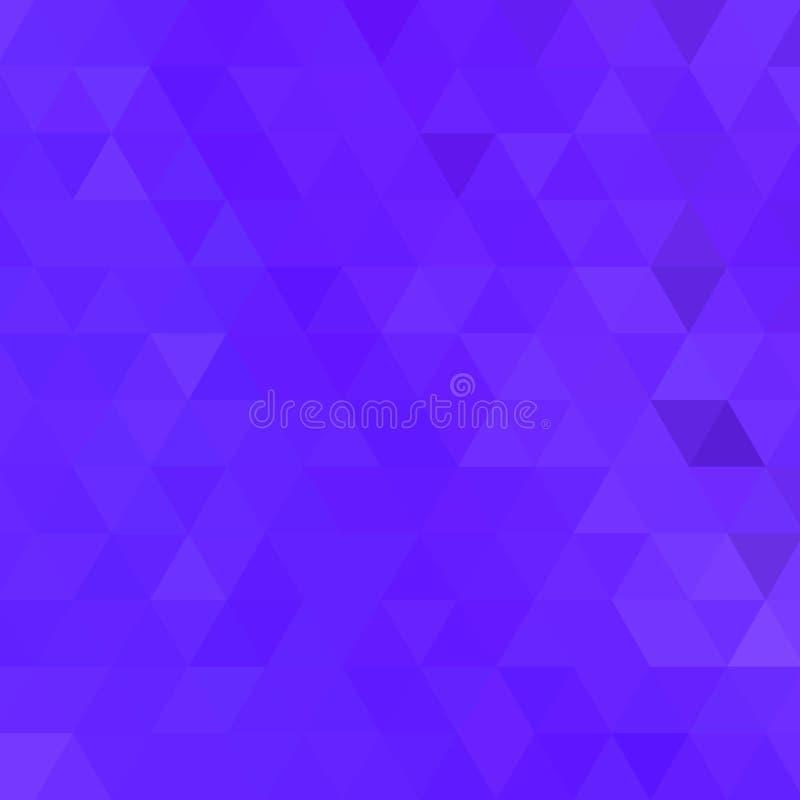 Fondo geometrico del triangolo di vettore astratto illustrazione di stock