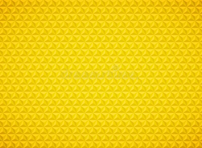 Fondo geometrico dell'oro del modello del triangolo di lusso Vettore eps10 dell'illustrazione royalty illustrazione gratis