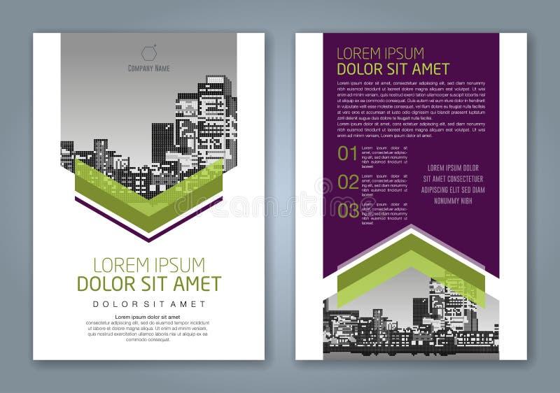 Fondo geometrico minimo astratto di progettazione del poligono di forme per la copertina di libro del rapporto annuale di affari royalty illustrazione gratis