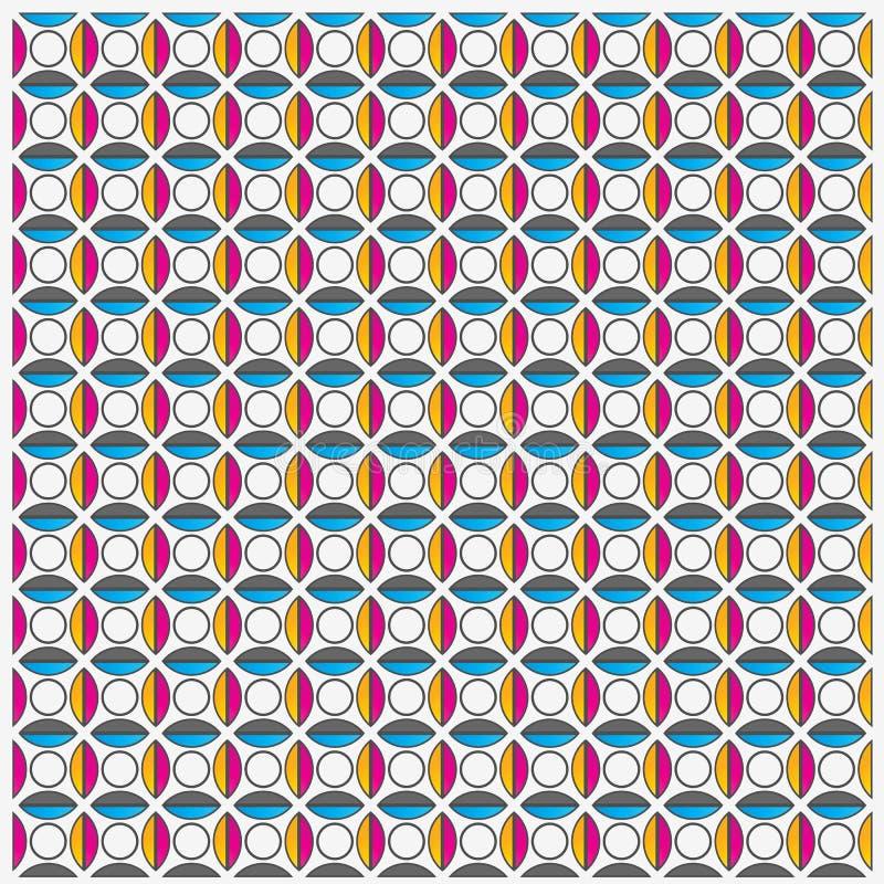 Fondo geometrico senza cuciture royalty illustrazione gratis