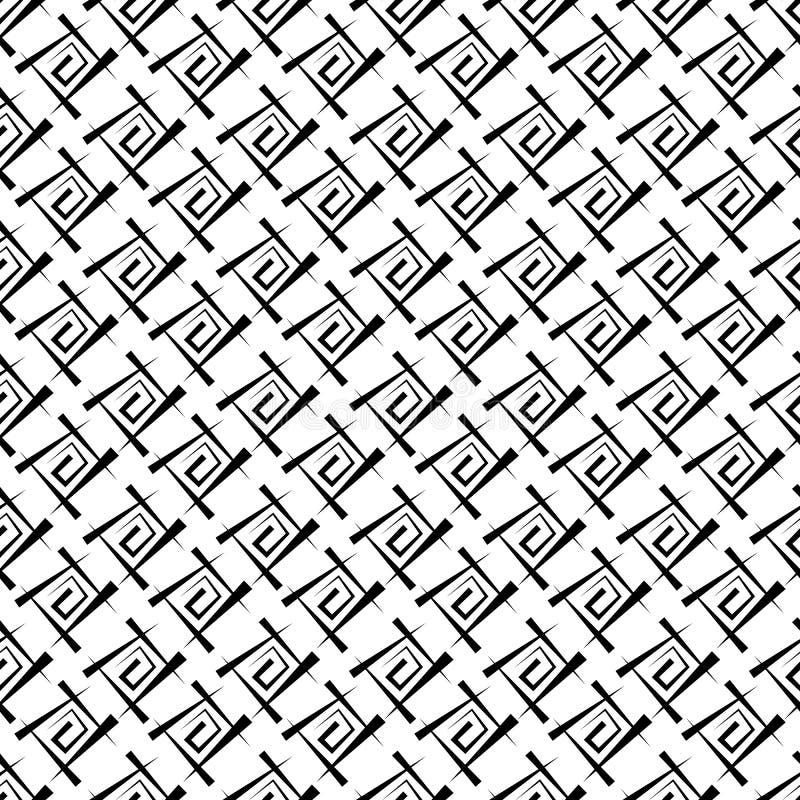 Fondo geometrico senza cuciture, illustrazione di vettore royalty illustrazione gratis