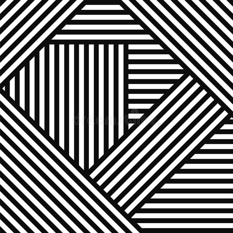 Fondo geometrico a strisce semplice astratto illustrazione di stock
