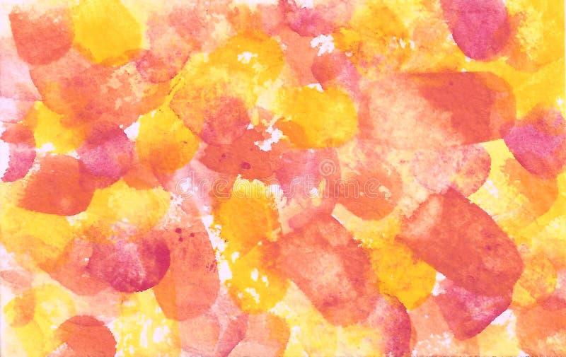 Fondo giallo arancio rosso Rilascio Ф9 300 della proprietà illustrazione di stock