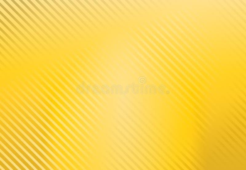 Fondo giallo con il modello della banda, vettore royalty illustrazione gratis