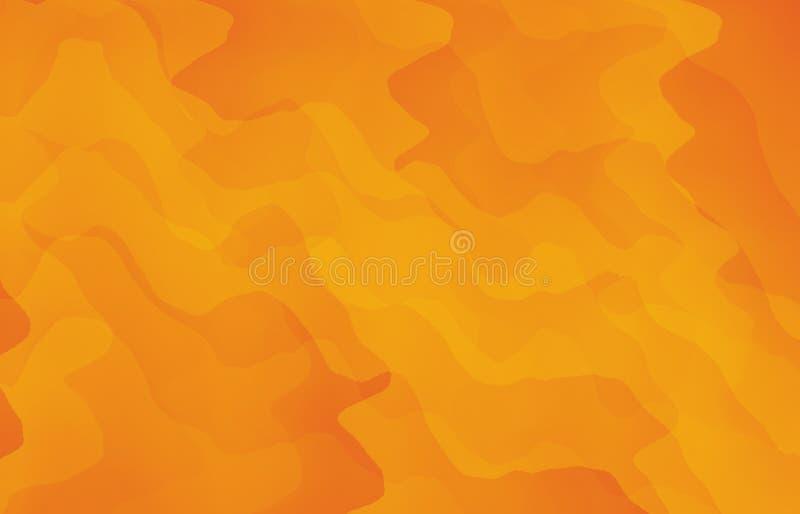 Fondo giallo variopinto dell'estratto immagini stock