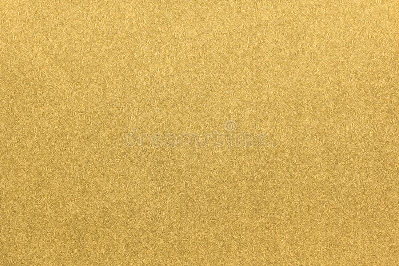 Fondo giapponese di struttura della carta dell'oro fotografie stock libere da diritti