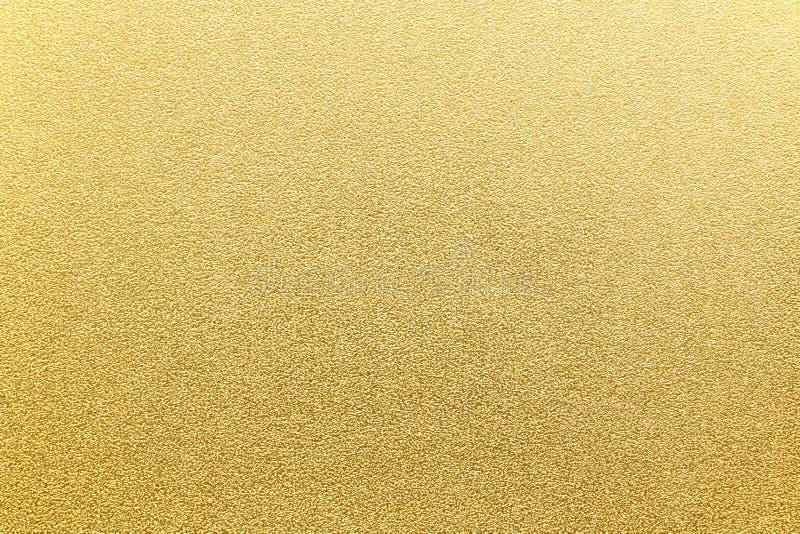 Fondo giapponese di struttura della carta dell'oro fotografia stock libera da diritti