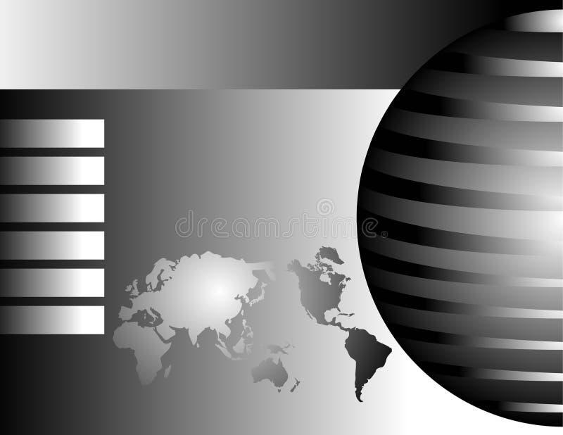 Fondo global del mundo ilustración del vector
