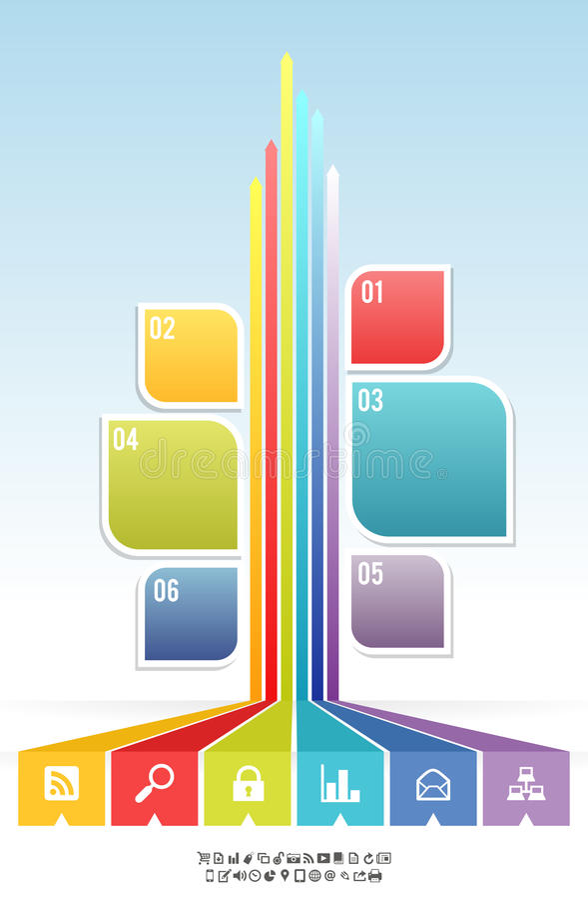 Fondo gráfico de la bandera del árbol de la hoja ilustración del vector