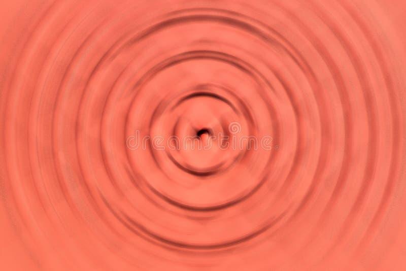 Fondo gráfico del modelo de la onda anaranjada de la falta de definición imagenes de archivo
